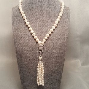 Jewelry - Beautiful Baroque Cultured Pearl Necklace